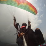 Paragliding at Billing