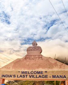Mana, India's last village