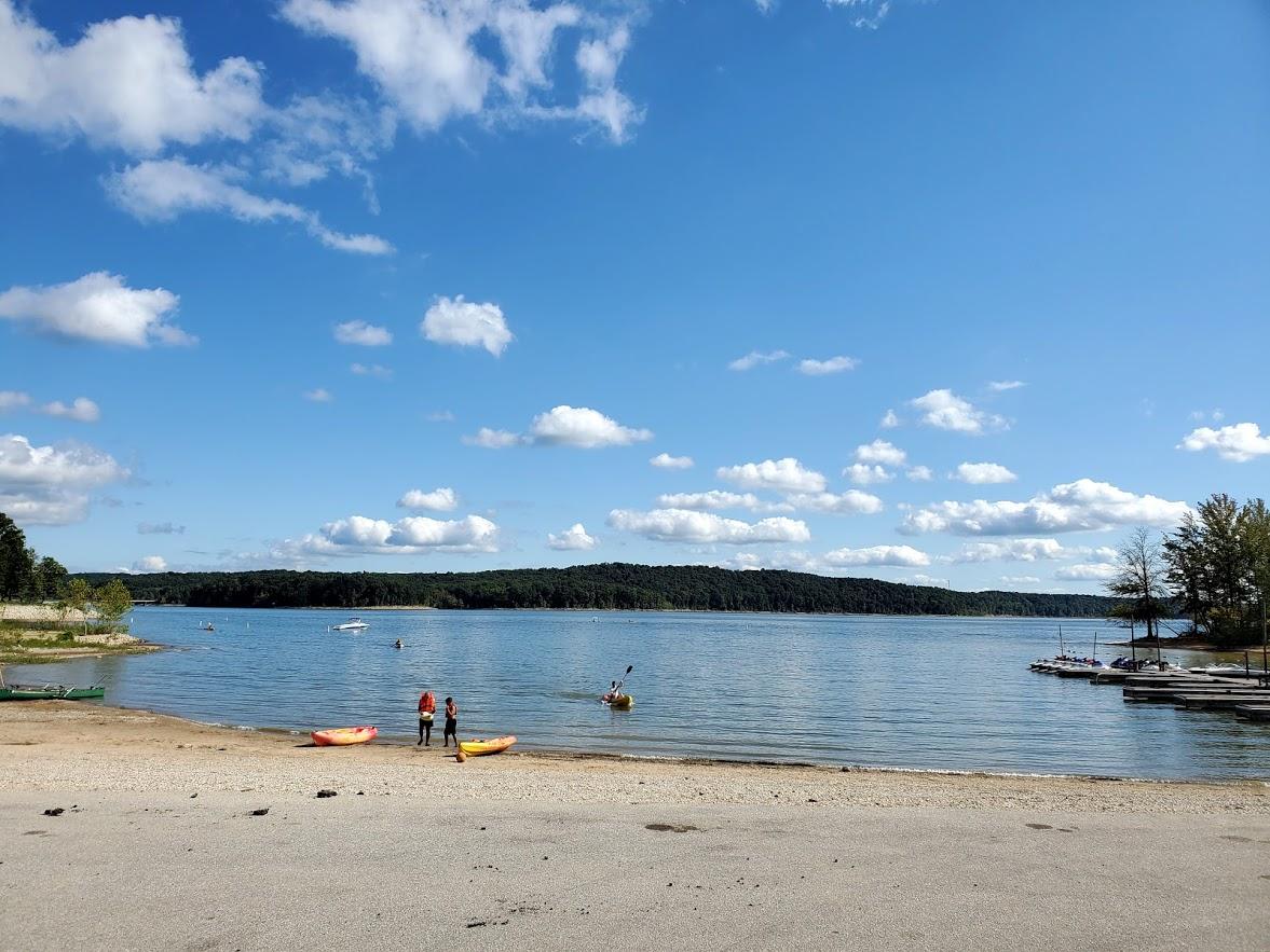 Kayaking at Lake monroe