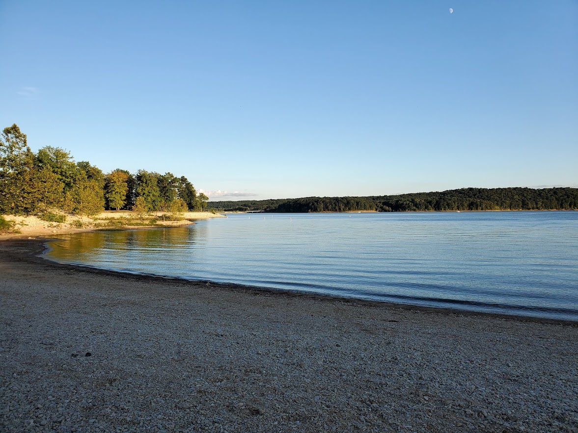 Lake monroe in the evening